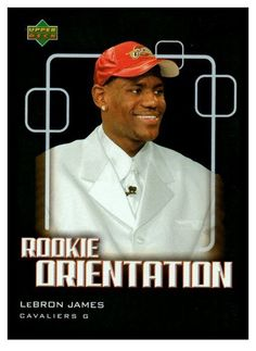 2003-04 Upper Deck Victory LeBron James Rookie Orientation Cleveland Cavaliers #ClevelandCavaliers