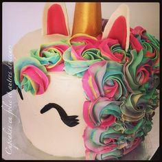 Gâteau licorne (unicorn cake)