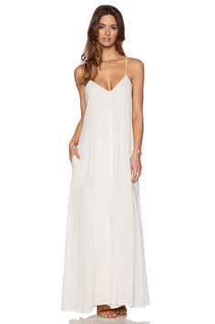 Indah Penda Maxi Dress in Ivory |