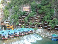 Dim Cay river in Alanya Turkey 2015