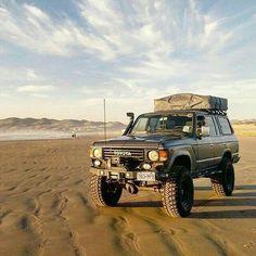 FJ60 going where it wants. #OffRoad #Adventure #Explore #Challenge