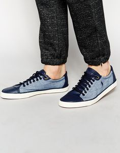 Polo Ralph Lauren Chambray Trainers