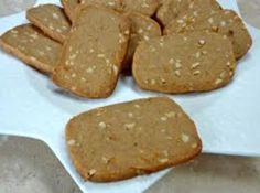 Dutch Windmill Cookie Slices Recipe - great texture, added more ground spices (b&w peppers, cardamom, fennel, mace and tsp each) (best cookie recipes for kids) Dutch Cookies, No Bake Cookies, Yummy Cookies, Cookies Et Biscuits, Amish Recipes, Sweet Recipes, German Recipes, Biscotti, Healthy Cookies For Kids