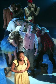 The cast of Goodspeed's THE CIRCUS IN WINTER at The Norma Terris Theatre, Chester, Conn. 10/23/14 - 11/16/14