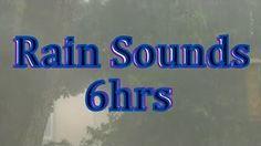 """8hrs Rain in a Car """"Sleep Sounds"""" - YouTube"""
