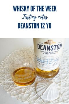 Review and Tasting notes for the Deanston 12 yo Single Malt whisky Single Malt Whisky, Soap, Notes, Bottle, Report Cards, Flask, Notebook, Bar Soap, Soaps
