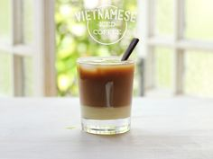 Vietnamese iced coffee is lush. It's rich, ice cold, sweet and strong. Just like I like my men? No, that joke sucks, forget it.  Instead, turn your attention to this drink. This iced coffee has changed my home...