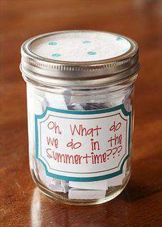 50 Ideas for summertime fun