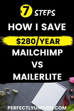 MAILCHIMP VS MAILERLITE SAVE $300/YEAR - Perfectly Uneven - Mailchimp vs Mailerlite review ad comparison. Which is the best email marketing service. Or at least which is the best free email marketing service for bloggers and really any other online business. Taking into considerion pricing, email automation functions, sequences, campaigns and all of the other features... #mailchimpvsmailerlite #emailmarketing #emailmarketingforbeginners #emailmarketingtips Email Providers, Email Service Provider, Email Marketing Software, Email Marketing Campaign, Online Business Opportunities, Business Ideas, Best Email, At Least, Yoga Inspiration