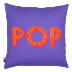 Pop cushion by Quirk and Rescue
