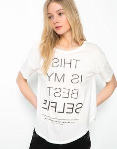 T- Shirts - Bershka - Woman - Bershka Turkey