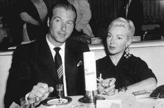 Lex Barker and wife Lana Turner Husband number four!