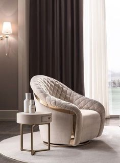 Velvet armchair with armrests Luxury Bedroom Furniture, Living Furniture, Sofa Furniture, Furniture Design, Sofa In Bedroom, Deco Furniture, Plywood Furniture, Sofa Chair, Couch