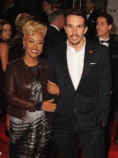 Emeli et son mari ! Quelle beau couple ces deux là !!! :)
