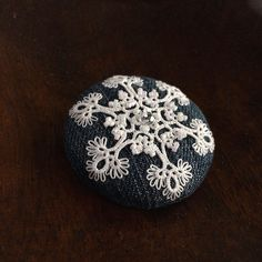 [S様専用オーダー品]雪の結晶のブローチ - kamacosan.