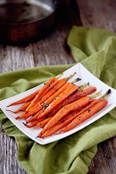 butter thyme carrots, perfect for Easter, Thanksgiving or special dinners.