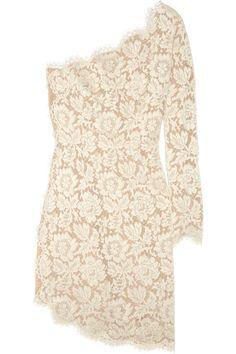 Rehearsal dress?! Yes Please!!! Stella Mccartney Asymmetric lace dress.