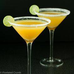 Key Lime Pineapple Martini