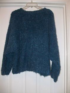 Paul Et Duffier Mohair Blue Sweater by MICSJWL on Etsy, $8.00
