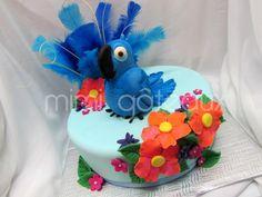 tropical bird cake - Google Search