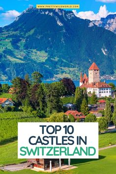 If you are looking for the best castles in Switzerland, you are in the right place. Most of them have jaw-dropping vistas and centuries-old past. Switzerland Itinerary, Switzerland Vacation, Visit Switzerland, Cool Places To Visit, Places To Travel, Travel Destinations, European Destination, European Travel, European Vacation