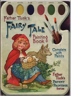 A.L. Bowley ~ FAIRY TALE PAINTING BOOK