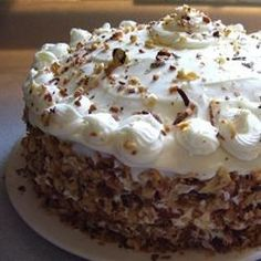 The carrots and pineapple work together to keep this cake moist and wholesome.