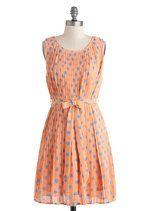 $50  Polka Dance Class Dress | Mod Retro Vintage Dresses | ModCloth.com