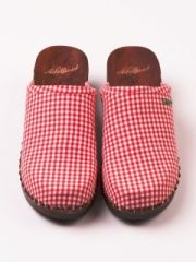 Adelheid shoes for 2016 Red Gingham, Gingham Check, Sven Clogs, Chenille Fabric, Little Red, Resolutions, Pretty In Pink, Favorite Color, Red And White