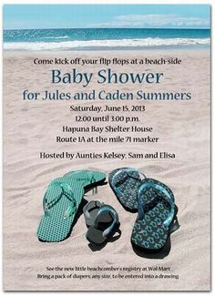 beach themed baby shower decor | Beach Theme Baby Shower — Unique Baby Shower Favors Ideas