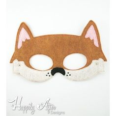 Dingo Mask ITH Embroidery Design