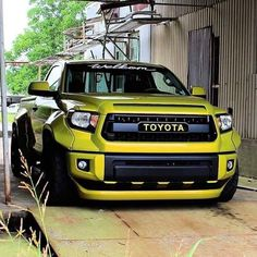 Tricked out Toyota Tundra
