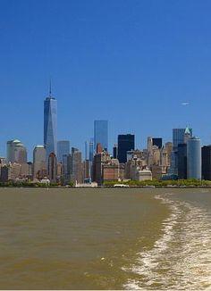 NYC. Manhattan skyline from Staten Island Ferry  | Flickr