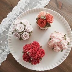 선물로 참 좋아요 ✨ #마이디어 #컵케익 #플라워케이크 #mydearcake #flowercake #flowercupcakes #flower #꽃 #선물 #cupcakes #컵케이크 #마이디어케이크