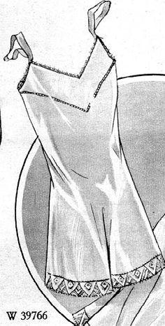 1929 Beyer's Modenblatt combination underwear, from Germany