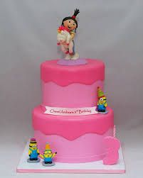 Image result for despicable me cakes for girls