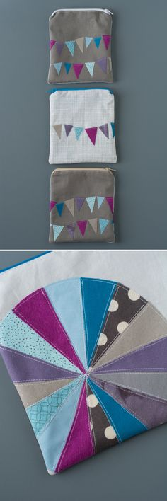 Made Fabric Pouch - Zipper Pouch Series | this heart of mine