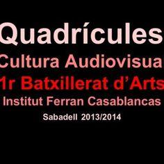 Quadrícules Cultura Audiovisual 1r Batxillerat d'Arts Institut Ferran Casablancas Sabadell 2013/2014   Méndez,Ylenia –B1A2   Mesa,Erica -B1A2  4. Molero. http://slidehot.com/resources/reche-anais-b1a2.54236/