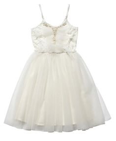 This stunning tutu dress is perfect for weddings, christenings and special occassions. http://www.tutudumonde.com/tutu-dress-collections/1053-weeping-willow-tutu-off-white.html
