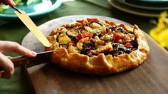 Torta Rustica de Ratatouille - Cozinha Pratica - Rita Lobo: