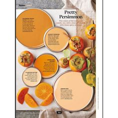 Better Homes and Gardens Pretty Persimmon ❤ liked on Polyvore featuring backgrounds and fillers