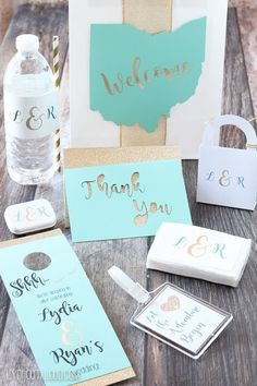Wedding Guest Gift Bags - such fun and easy DIYs!