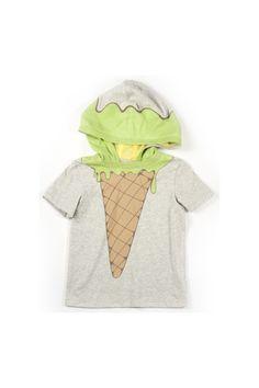 Ice cream Hoodie Grass