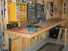 Garage Workshop Plans and Tools