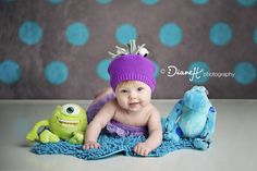 Baby Girl with Monsters Inc Friends {Minnesota Baby Photographer} » DianeH Photography