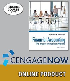 CengageNOW Online Homework System to Accompany Porter/Norton's Financial Accounting: The Impact on Decision Makers, 9th Edition, [Web Access], 1 term (6 months)  http://www.bestcheapsoftware.com/cengagenow-online-homework-system-to-accompany-porternortons-financial-accounting-the-impact-on-decision-makers-9th-edition-web-access-1-term-6-months/