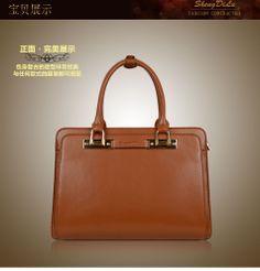 Free Shipping 2013 Fashion HandBag  Genuine Leather Bags Red Women  Shengdilu Brand Womens Leather Handbags Women B36 $130.00