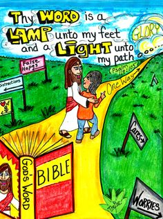 His Word is a Lamp unto our feet and a Light unto our path. (Psalm 119:105)  **Please visit our Facebook page** www.facebook.com/TheGoodNewsCartoon