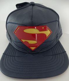 best loved f0178 ff044 Details about DC Comics Superman Rebirth Suit Up Snapback Baseball Cap  (Licensed Hat)