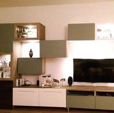 Album - 5 - Banc TV Besta Ikea, réalisations clients (série 2) pour la combinaison des couleurs